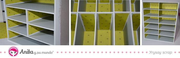 separadores interiores mueble scraproom