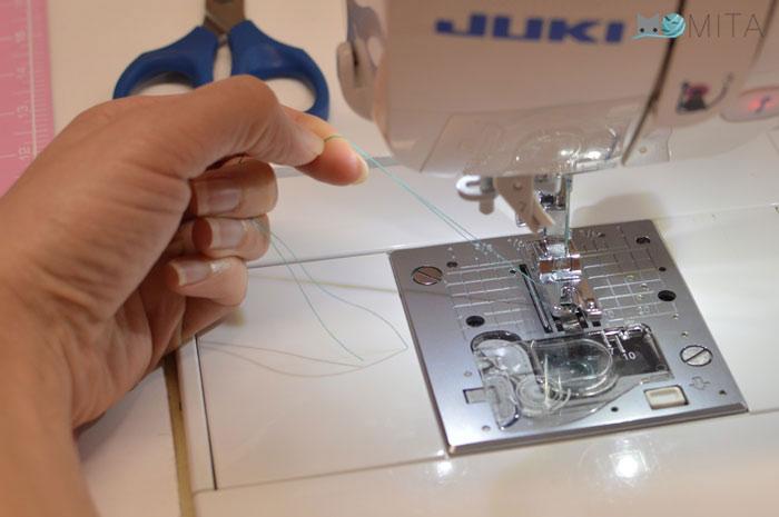 coser dobladillo fino