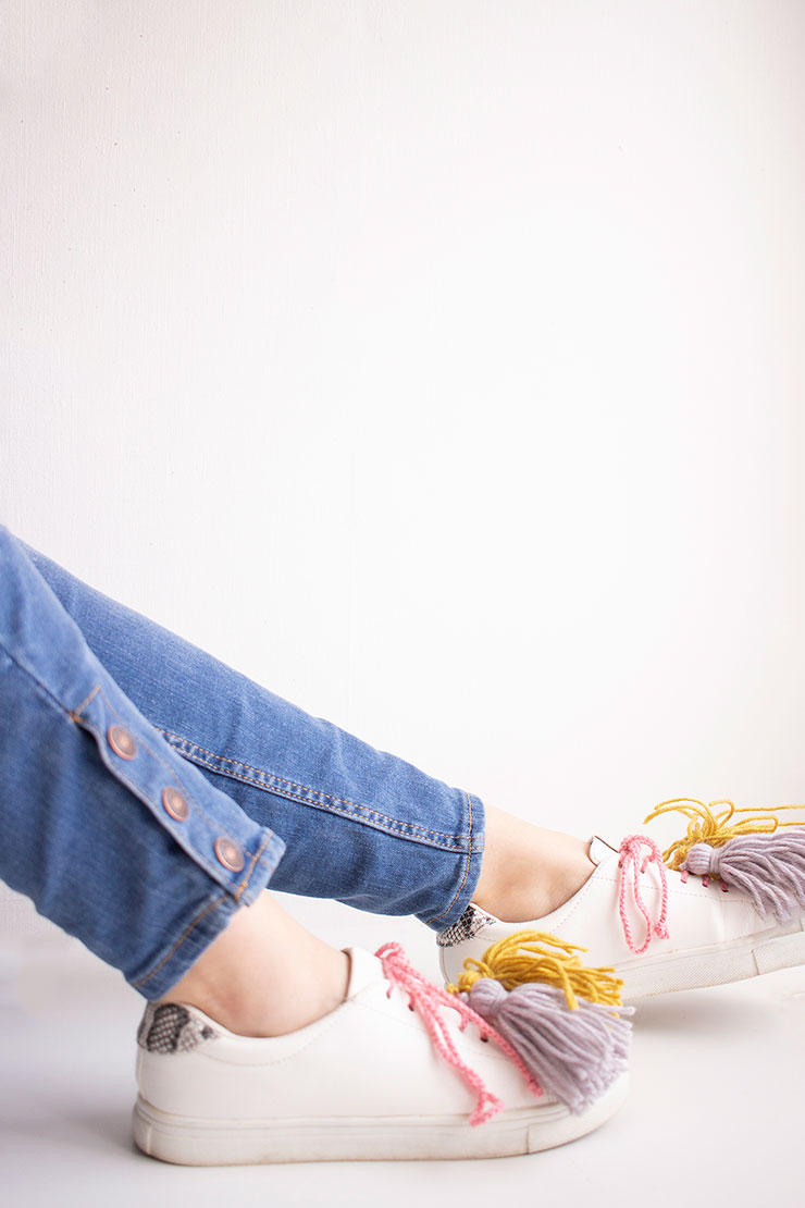 diy zapatillas customizadas