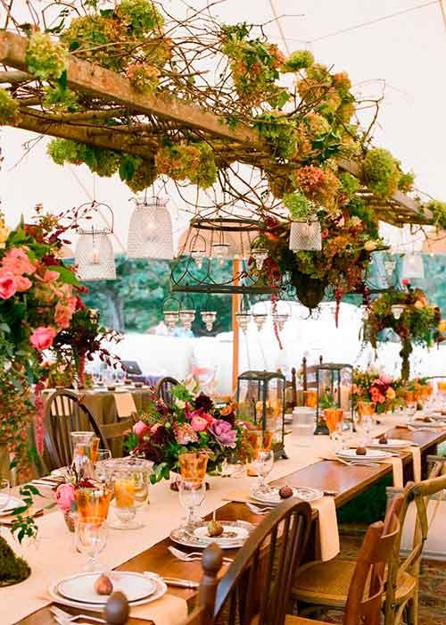 Ideas para bodas en jardines