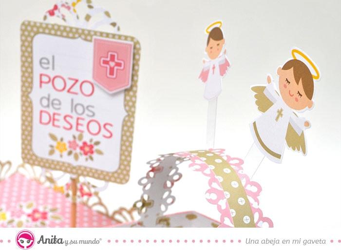 cartel nombre niña de comunión para regalo personalizado