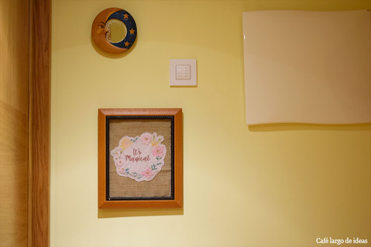 Cómo colgar un cuadro en la pared con truco