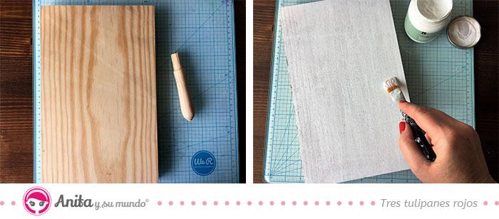 panel de fotos tratamiento a la madera