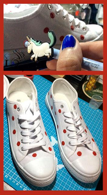 Pintado-de-topos-en-zapatillas-Ideadoamano