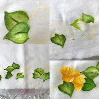 proceso-trabajo-pintura-chal-invitado-creativo-creandoyfofucheando