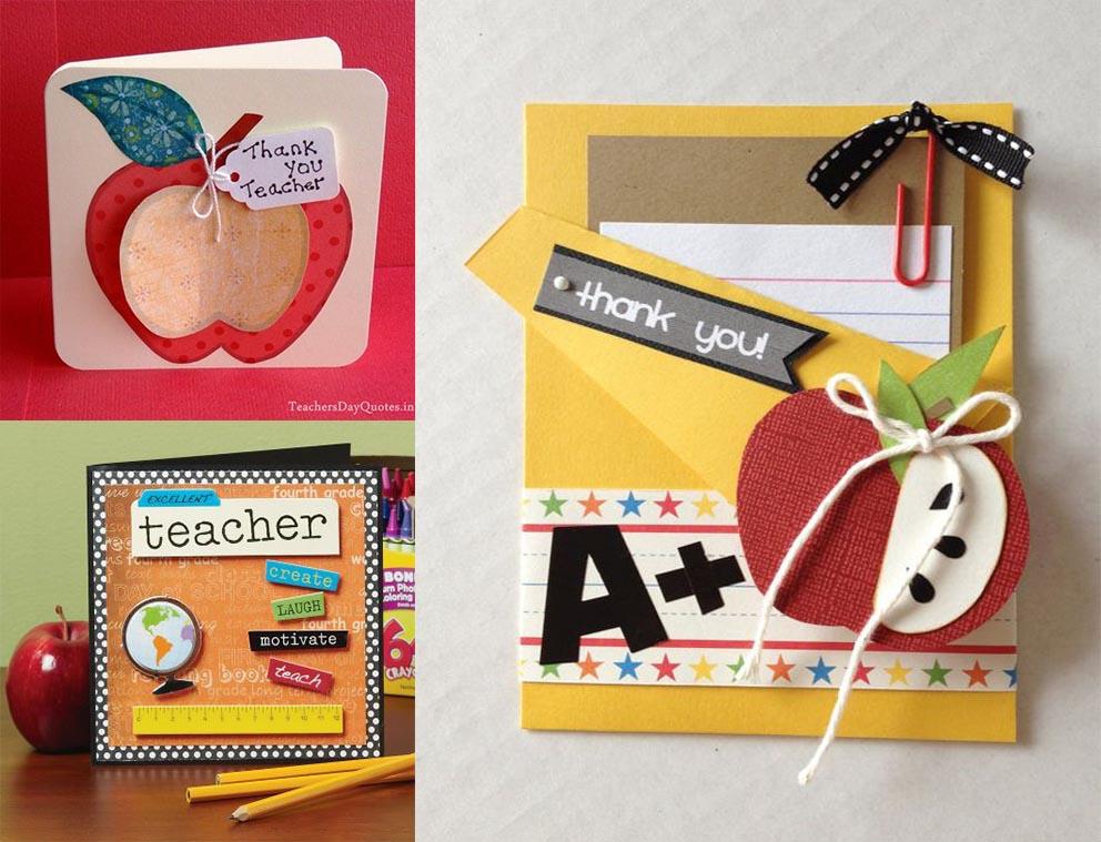 tarjetas para regalar a profesores