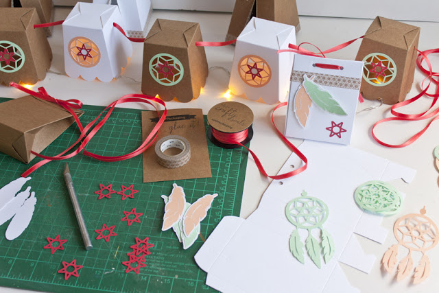 farolillos papel decoracion fiesta