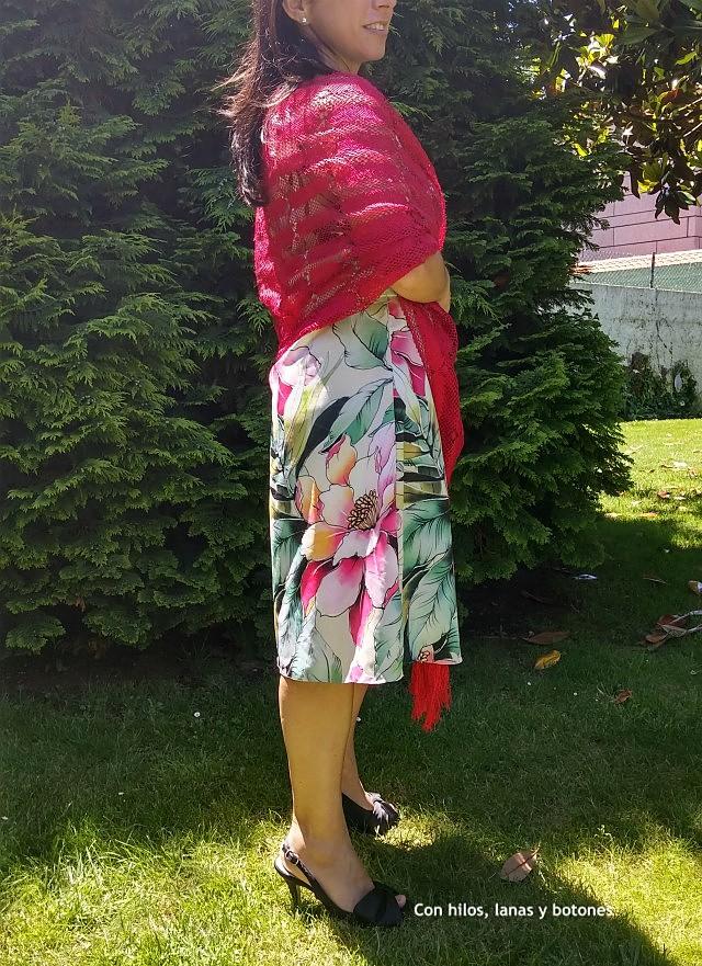 Con hilos, lanas y botones: DIY Vestido de verano con escote halter