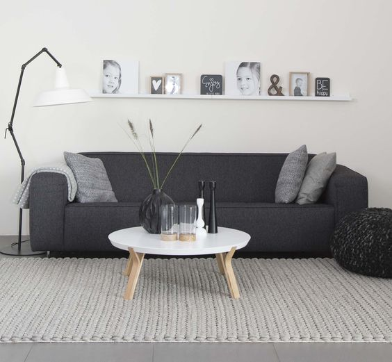 decorar el espacio sobre el sofa - balda corrida - houseofmayflower nl
