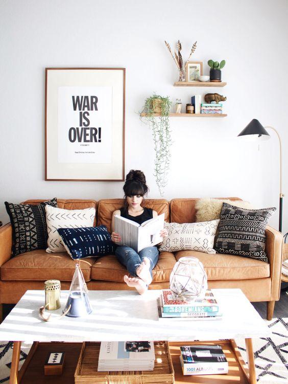 decorar el espacio sobre el sofa - mix con gusto - newdarlings -com