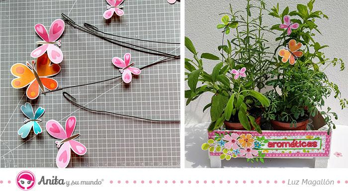 Detalles primaverales para hacer manualidades papel
