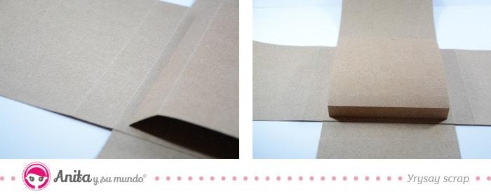 estructura central interior flip box