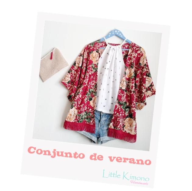 Conjunto de verano: Kimono sin patrones [Ribes-Casals y Handbox ...