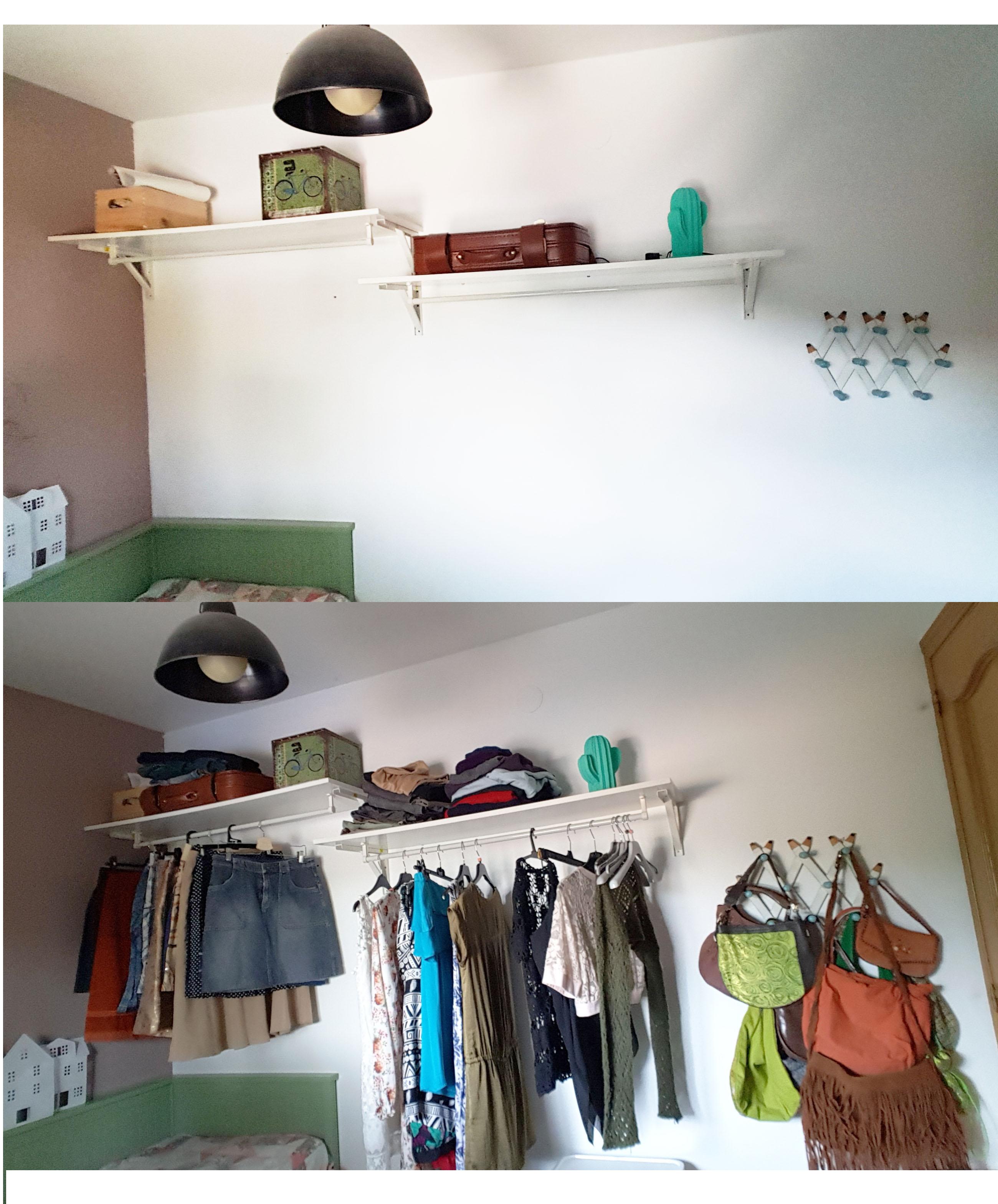 Alternativa al armario - Armario completo con 3 elementos