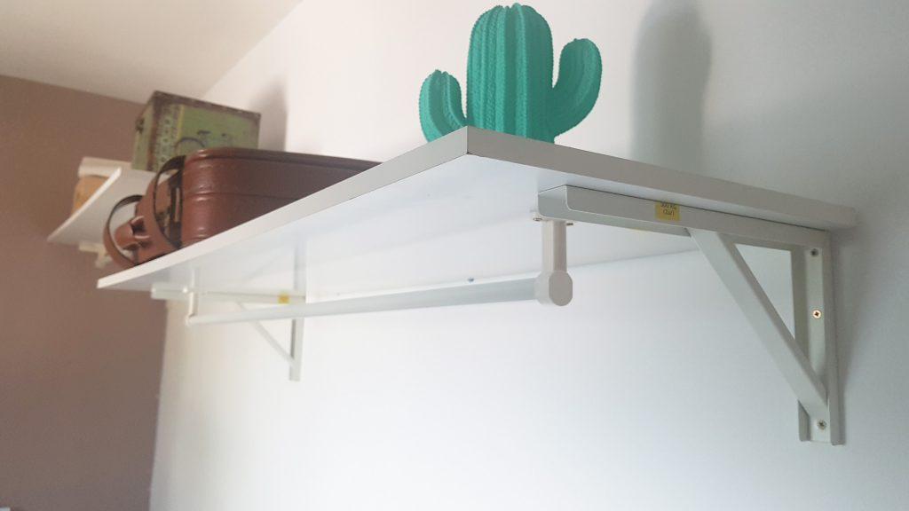 Alternativa al armario - detalle de como es el sistema de almacenaje