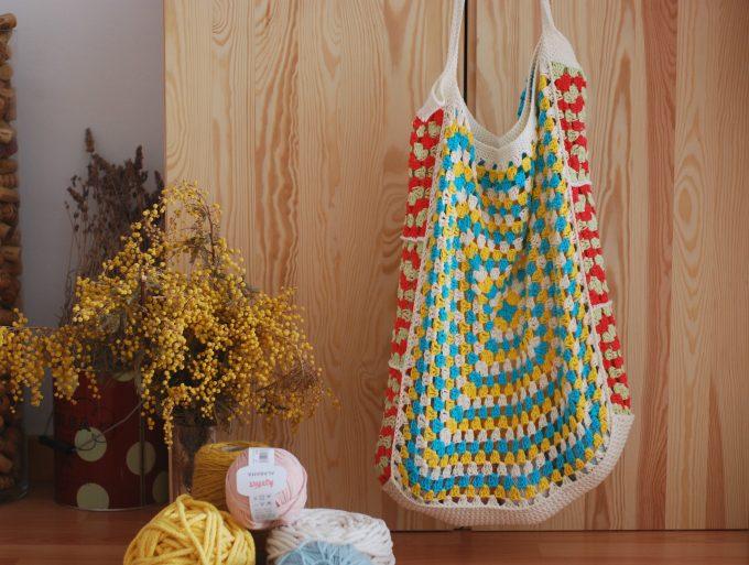 bolsa para la compra crochet
