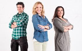Equipo de Casaterapia, de izquierda a derecha: Álex Arce, Rocío Puertes y Johana Alonso.