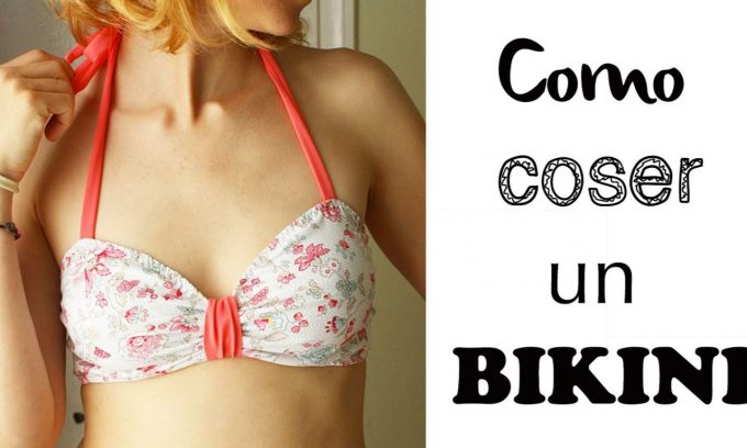 coser en verano un bikini