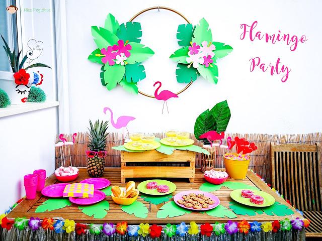 flamingos party freebies