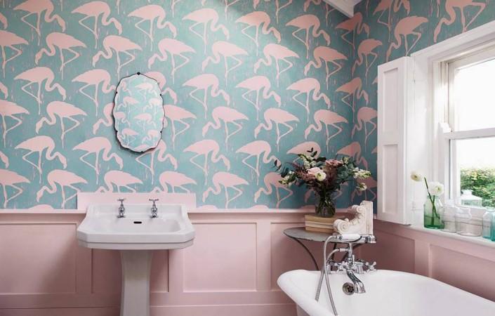 Baños decorados con estilo tropical