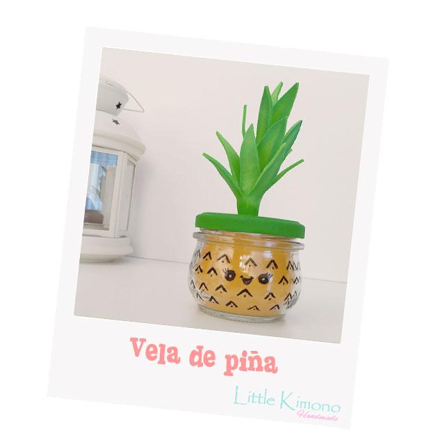Vela kawaii con aroma a piña - Handbox Craft Lovers | Comunidad DIY ...