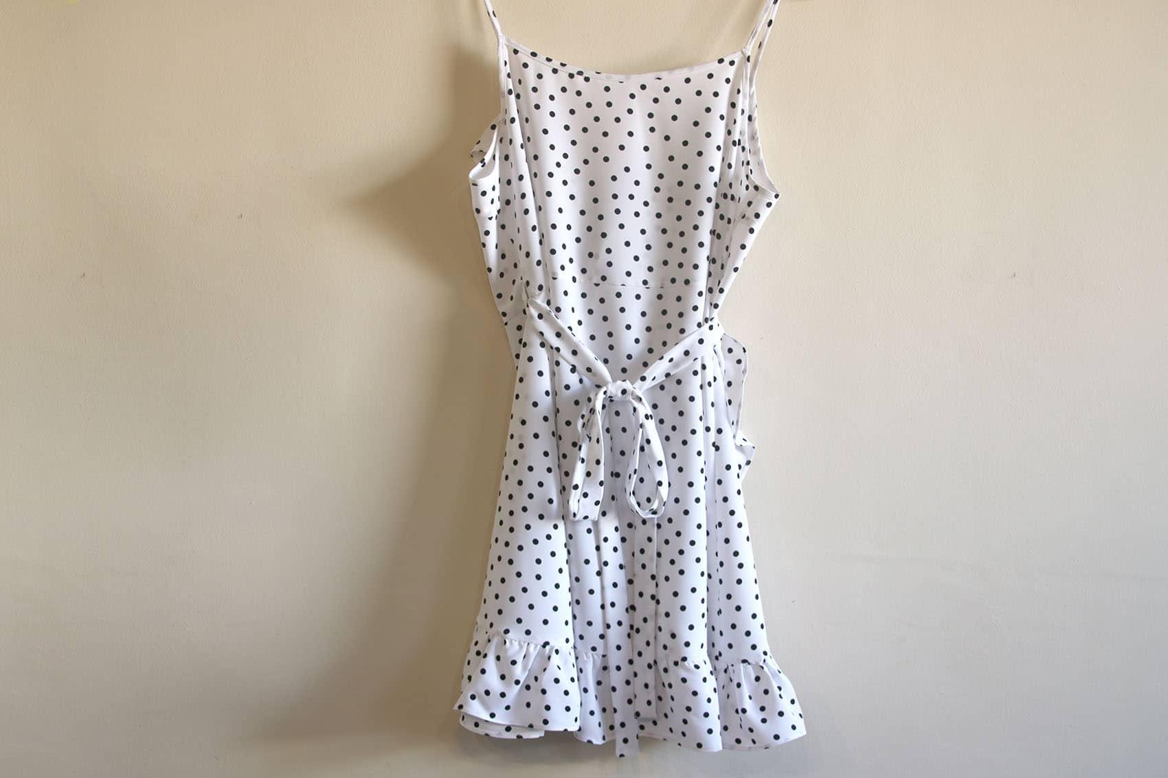 Aprender a coser: vestido cruzado mujer (patrones gratis) - Handbox ...