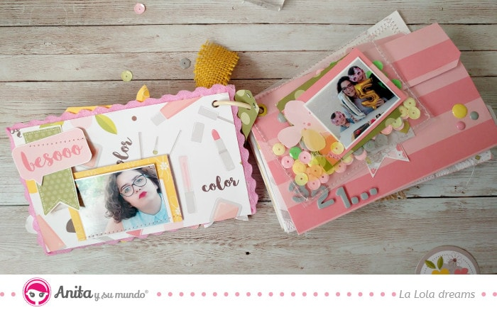 mini shaker scrapbooking