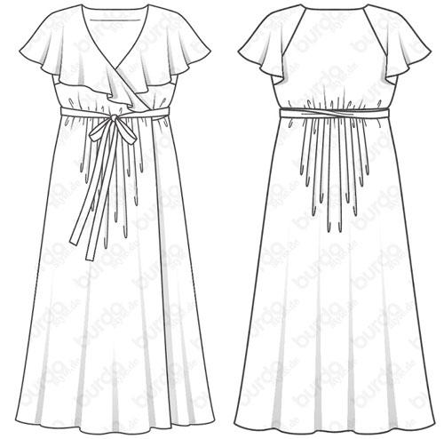 vestido Burdastyle