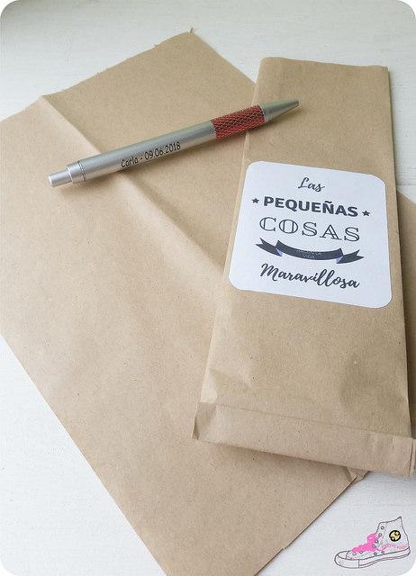 packaging boligrafo