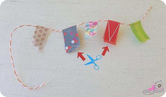 banderin con washi tape como se hace(1)