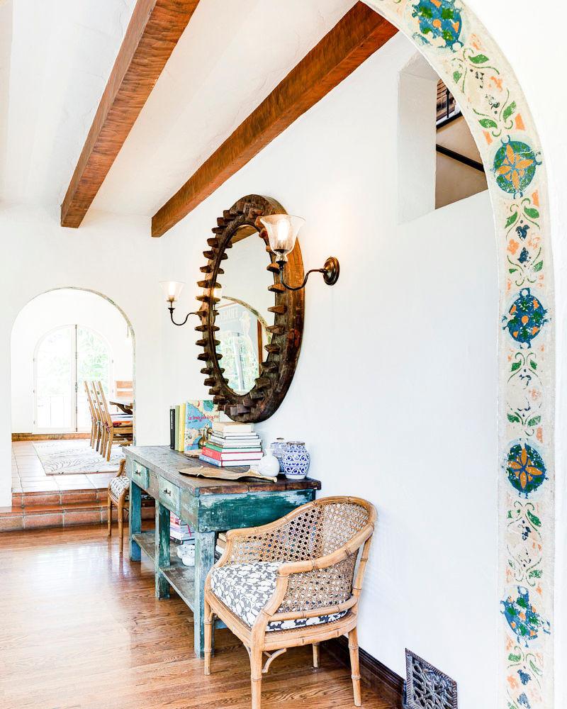 La casa de unos diseñadores en California