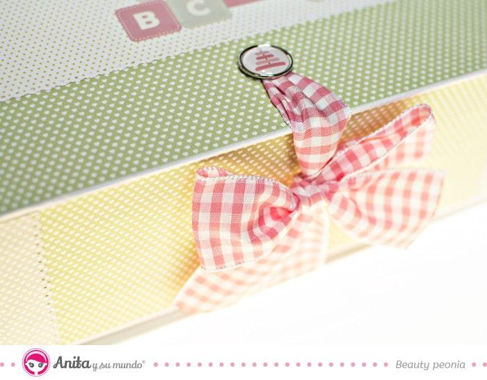 caja personalizada regalo bebé