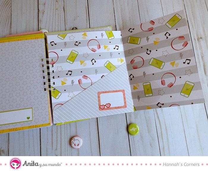 como hacer bolsillos en forma de sobres