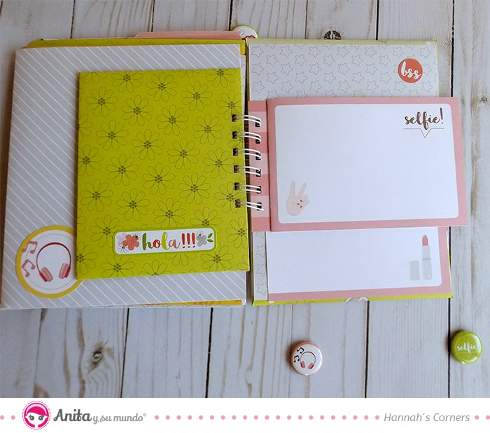 cómo hacer páginas scrapbooking en forma de sobres