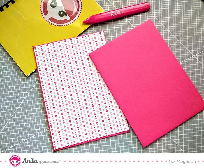 cómo hacer un cuaderno bonito