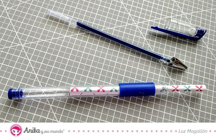 cómo tunear bolígrafos