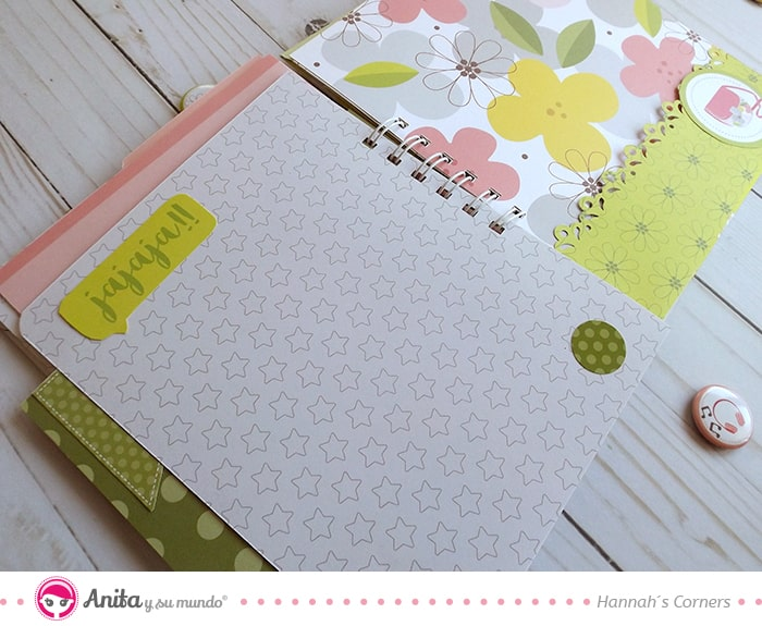 decorar álbum scrapbooking troqueles bordes