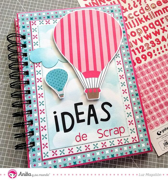 decorar un cuaderno con papeles bonitos
