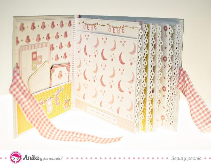 interior album regalos para bebés