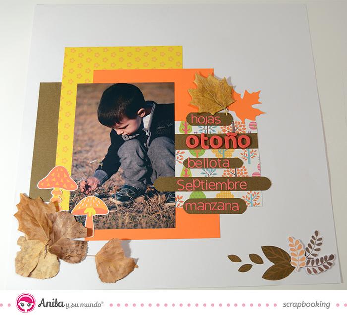 layout otoño con sketch