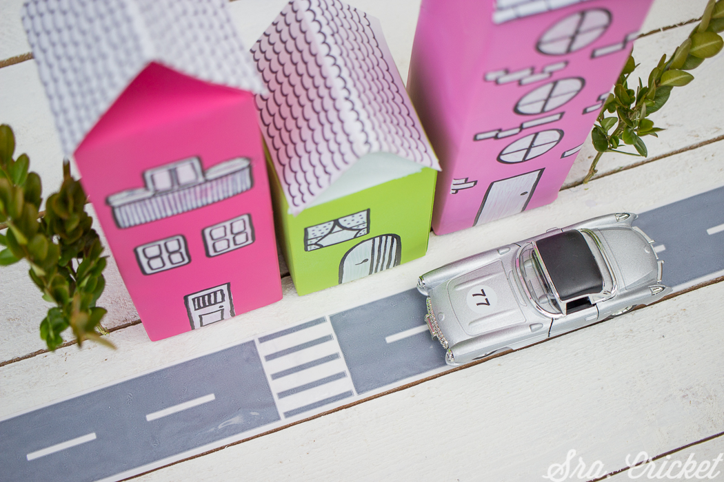 manualidades para niños envases cajas reciclar