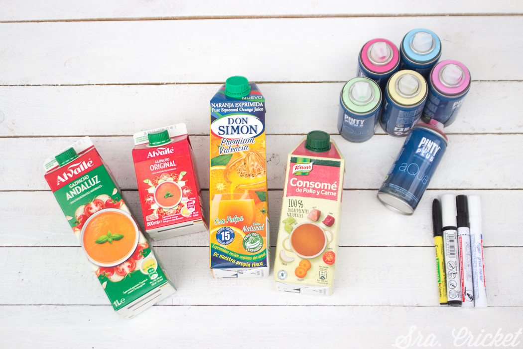 reciclar envases carton para manualidades