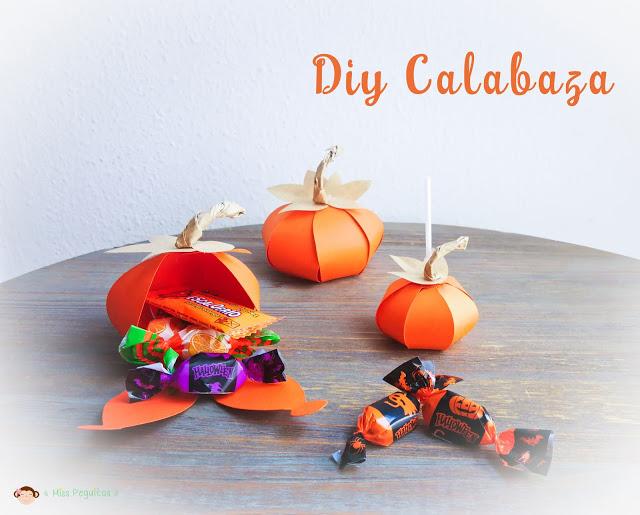 diy calabaza de papel diy pumpkin paper