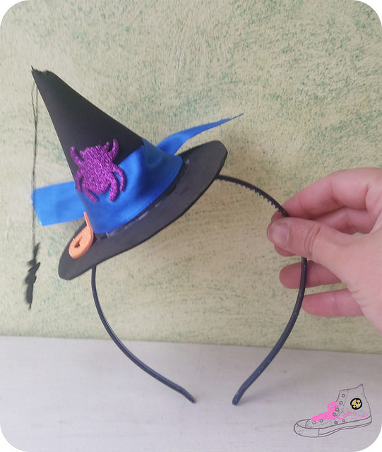 sombrero bruja diy
