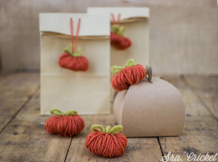 DIY bolsitas regalo chuches halloween
