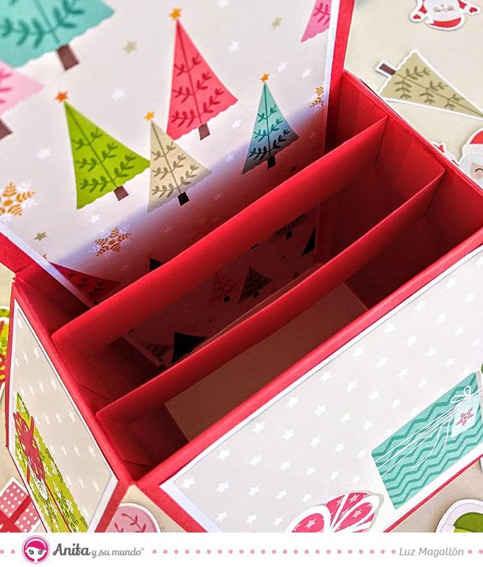 cómo pegar card in box