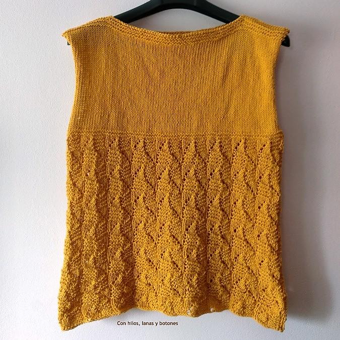 Con hilos, lanas y botones: Talland Tee
