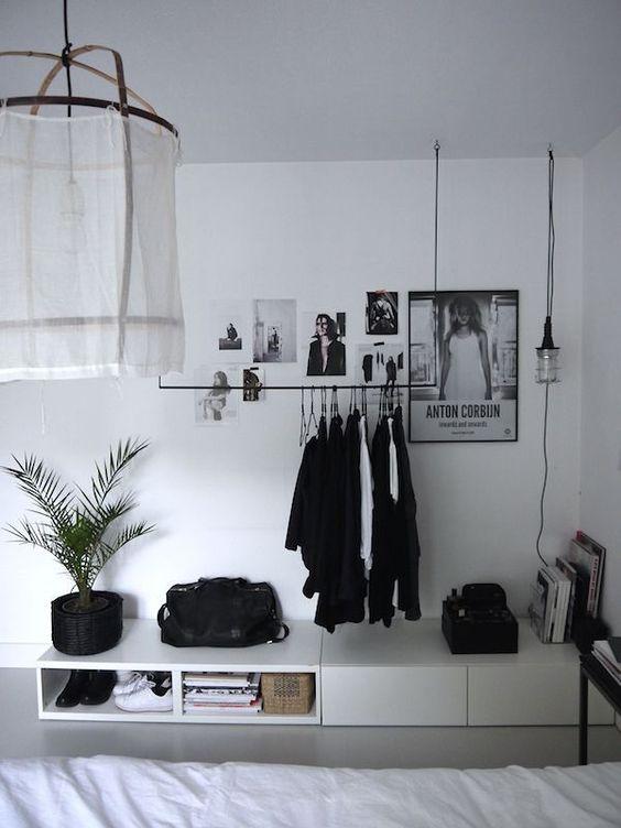 Ideas para decorar en blanco y negro