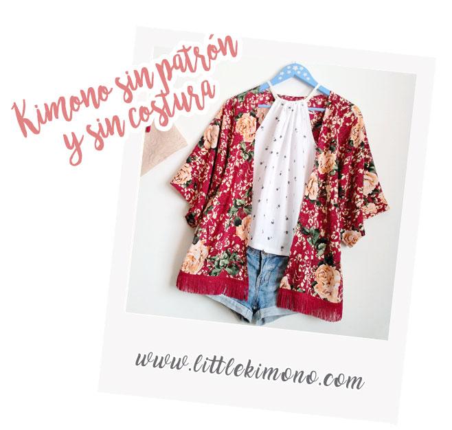 Kimono fácil: sin patrón y sin costura - Handbox Craft Lovers ...