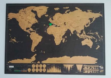 Cómo colgar cuadros sin marco